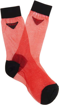 Prada Two Toned Sock