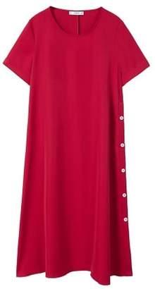 MANGO Side buttons dress