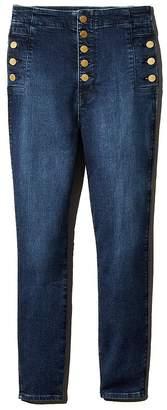 88a97960b8e J Brand Natasha Sky High Crop Skinny Jeans in Untamed