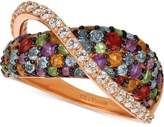 LeVian Le Vian Multi-Gemstone Ring (2-1/3 ct. t.w.) in 14k Rose Gold