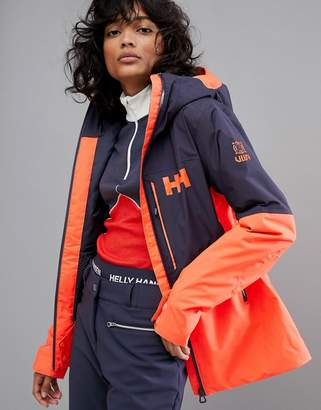 Helly Hansen (ヘリー ハンセン) - Helly Hansen Freedom Jacket in Navy/Orange