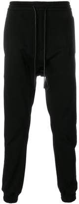 Juun.J dropped crotch track pants