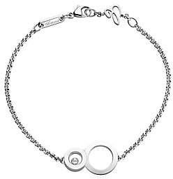 Chopard Women's Happy 8 Diamond& 18K White Gold Bracelet