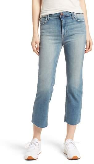 The High Waist Straight Jeans