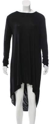 Kimberly Ovitz Long Sleeve High-Low Dress