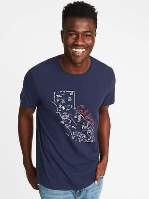 "Old Navy ""California"" Graphic Tee for Men"