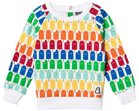 Boys & Girls Multicoloured Lolly Print Jumper