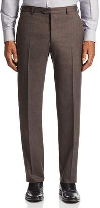 Emporio Armani Flat-Front Tailored Fit Pants