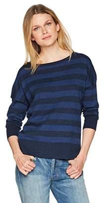 NYDJ Women's Long Sleeve Striped Sweater