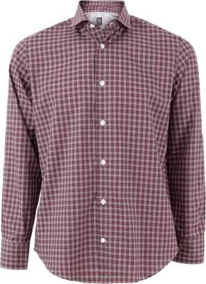 Eleventy Check Plaid Shirt