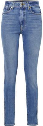 Khaite - Vanessa High-rise Skinny Jeans - Blue