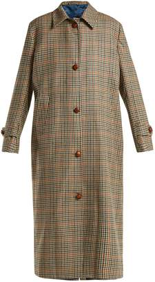 DAY Birger et Mikkelsen GIULIVA HERITAGE COLLECTION Maria checked virgin-wool coat