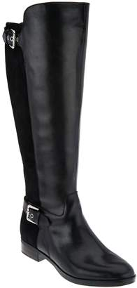 Marc Fisher Wide Calf Tall Shaft Leather Boots - Damsel