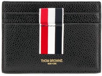 Thom Browne stripes insert cardholder