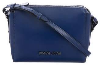 Armani Jeans Minimal Leather Crossbody Bag