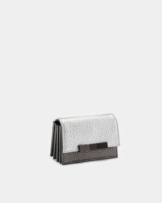 Ted Baker ALETA Bow concertina leather card holder