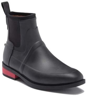 Hunter Wellesley Rubber Jodhpur Boot