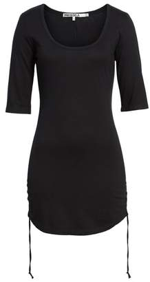 Pam & Gela Ruched Body-Con Dress