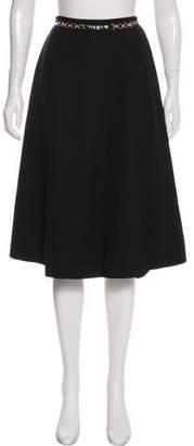 Celine A-Line Knee-Length Skirt