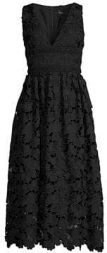 Shoshanna Monroe Lace Midi Dress