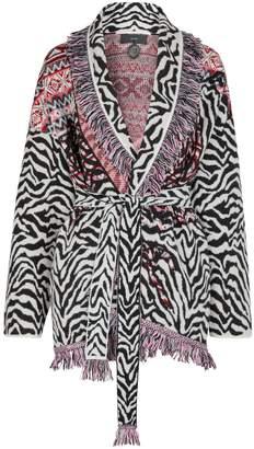 Alanui Wool-cashmere blend cardigan
