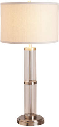Lulu & Georgia Alyssa Table Lamp, Brushed Nickel
