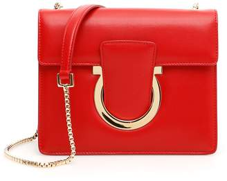 a7d7f97b817a Salvatore Ferragamo Red Chain Strap Handbags - ShopStyle