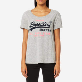 Superdry Women's Slim BF T-Shirt