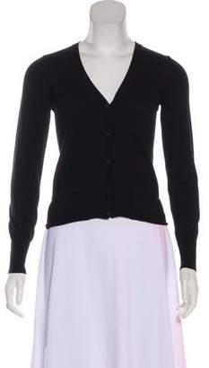 Bottega Veneta Button-Up Wool Cardigan