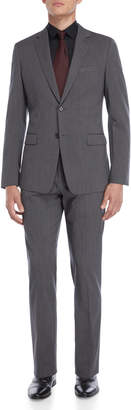 American Designer Two-Piece Grey Rodolf Wool Suit