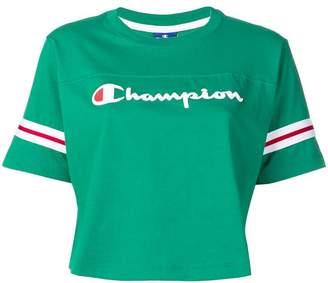 Champion cropped logo T-shirt
