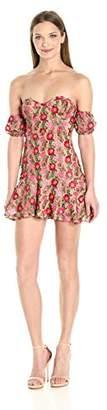 For Love & Lemons Women's Amelia Strapless Mini