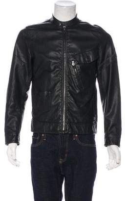G Star Defend Wax-Coated Distressed Jacket