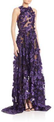 Jason Wu Floral Fils Coupe Gown $5,695 thestylecure.com