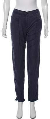 Alexander Wang Woven Mid-Rise Pants