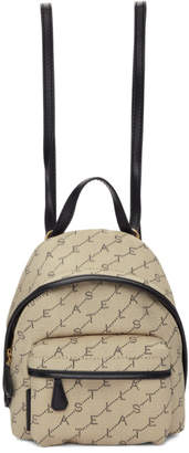 Stella McCartney Beige Mini Monogram Backpack
