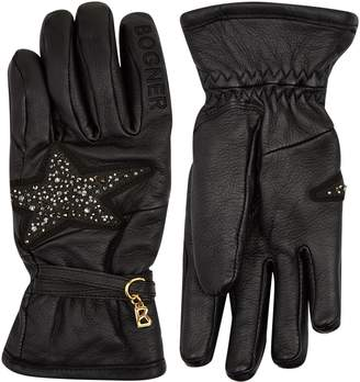 Bogner Sylvia Embellished Gloves