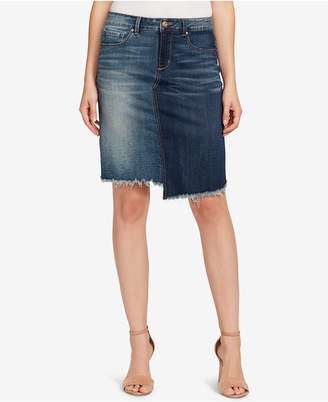 Vintage America Wonderland Denim Skirt