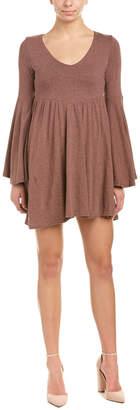 Anama Bell-Sleeve Mini Dress