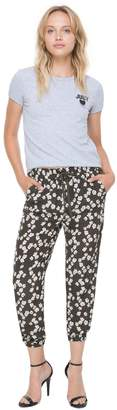 Juicy Couture Abbey Floral Silk Pant