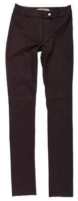 Preen Line Mid-Rise Pin Stripe Pants