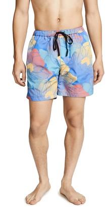 Double Rainbouu Fast Paradise Swim Shorts