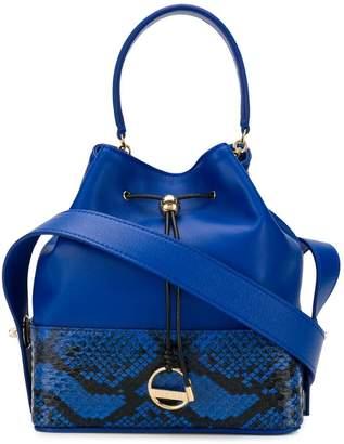 Emilio Pucci snake-print bucket bag