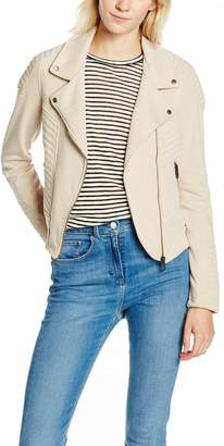 Vero Moda Women's Nicoline Biker Soft Terry Jacket