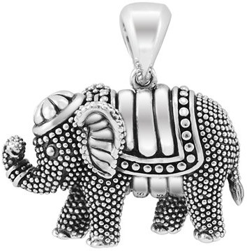 Women's Lagos 'Rare Wonders - Elephant' Long Talisman Necklace