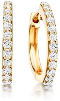 Astley Clarke Medium Halo Diamond Hoop Earrings
