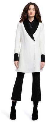 Alice + Olivia Vance Shawl Collar Coat
