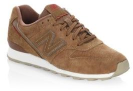 New Balance 696 Suede Sneakers $84.95 thestylecure.com