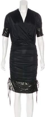 Dolce & Gabbana Short Sleeve Midi Dress w/ Tags