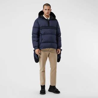 Burberry Down-filled Anorak with Detachable Mittens